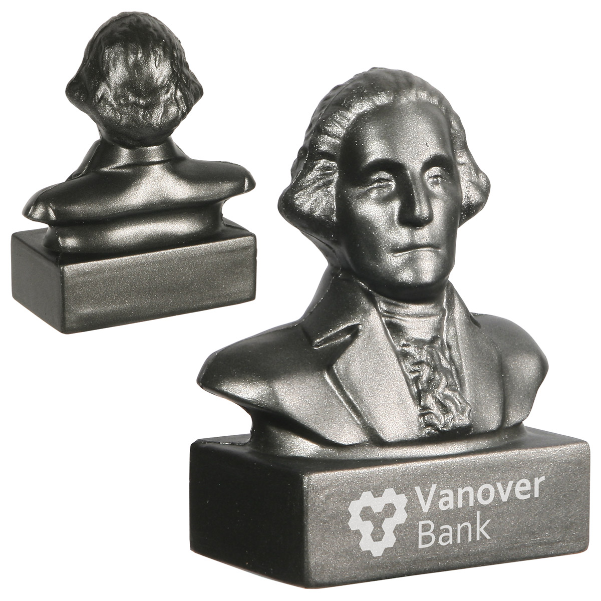 George Washington Bust Stress Ball